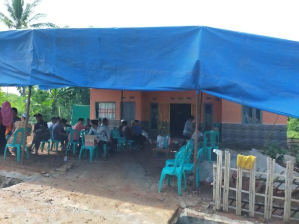 Korban Lakalantas di desa talang baru kecamatan abung barat, dimakamkan di gunung labuhan way kanan.