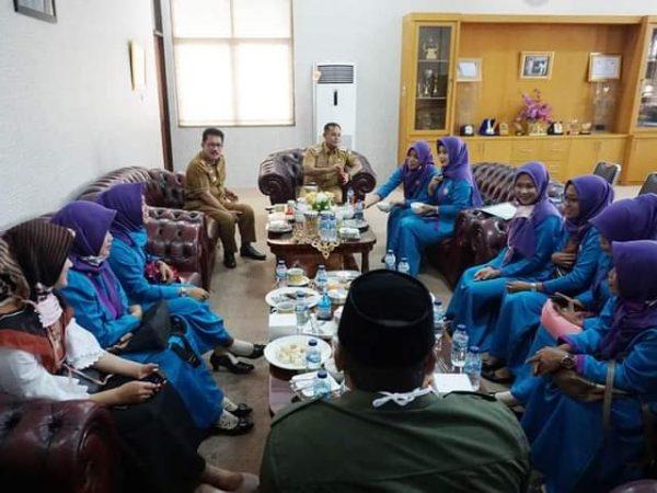 Silaturahmi ke Bupati, Alif Perkenalkan Pengurus Baru Perempuan Bangsa hingga Jajaki Kerjasama