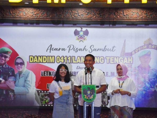 Pisah Sambut Kodim 0411, Letkol Czi Burhannudin, SE, M.Si Ucapkan Terima Kasih atas Dukungan selama Bertugas