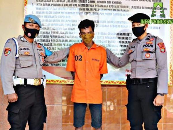Warga Pringsewu Barat Lakukan Tindak Pidana Pencurian Milik Warga Pringsewu Timur