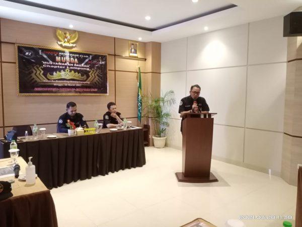 Beri Penyegaran dalam Organisasi, Club AXFC Indonesia Chapter Lampung gelar MUSDA