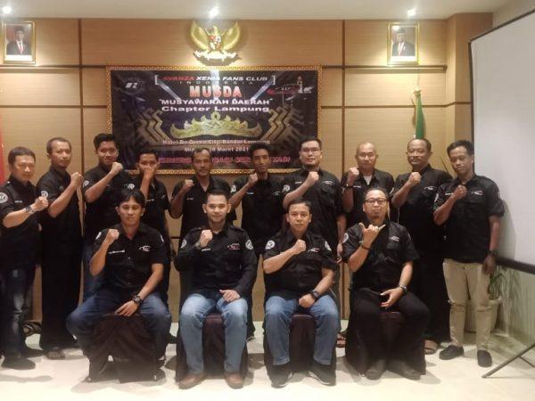 Beri Penyegaran dalam Organisasi Roda 4, AXFC Chapter Lampung adakan MUSDA