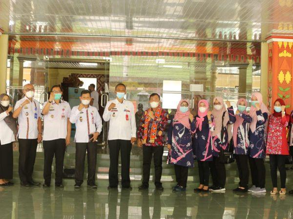 Pemkab Lampung Barat Terima Kunker Asisten Bidang Pemerintahan dan Kesejahteraan Rakyat (Kesra) Kota Lubuk Linggau, Provinsi Sumatera Selatan