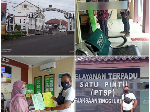 Diduga Lakukan Suap atas Pengangkatan Tenaga Honorer (PTHL), Kadis Peternakan dan Perkebunan dilaporkan Ke Kejati Lampung