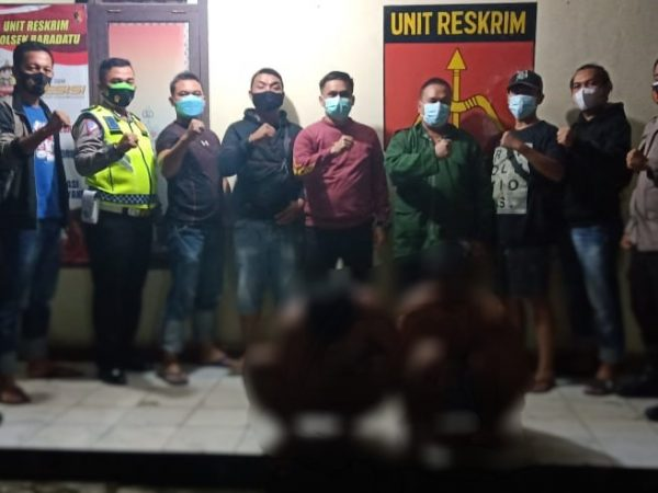 Diduga Pelaku Pemerasan di Jalinsum, Dua Pria di amankan Polisi