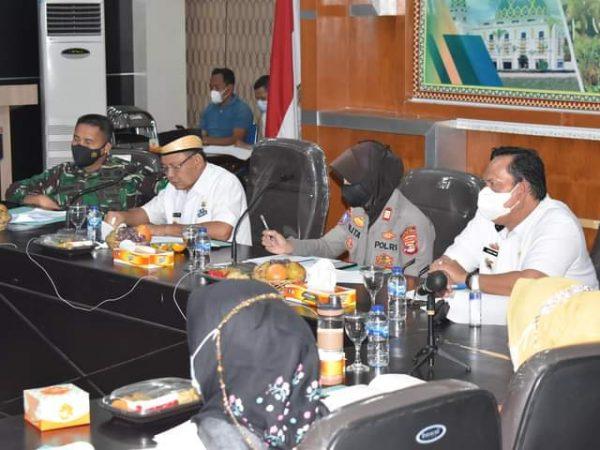 Pemerintah Kabupaten Lampung Timur Gelar Rapat Persiapan HUT RI Ke-76