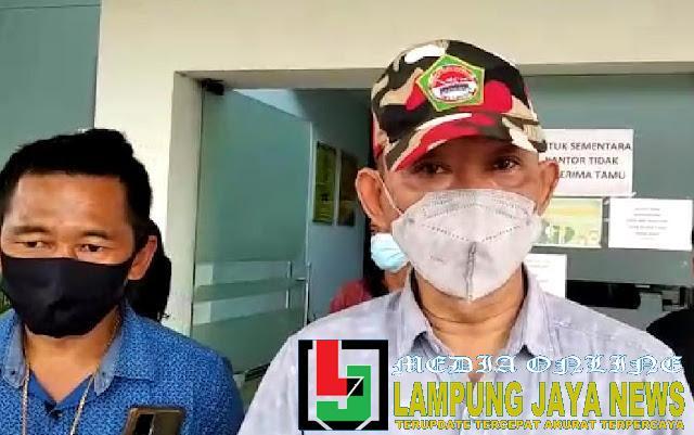 Kirimkan Surat Resmi Ke Dinas BMBK, LMPI Lampung Minta Jawaban Resmi Terkait Proyek Jalan Tegal Mukti - Tajab