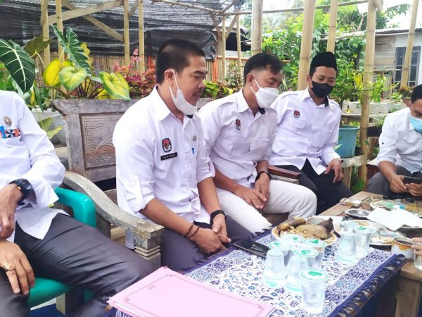 KPU Lampung Barat Gelar Rapat Koordinasi Terkait Rekapitulasi Pemuktahiran Daftar Pemilih Berkelanjutan Periode Agustus 2021