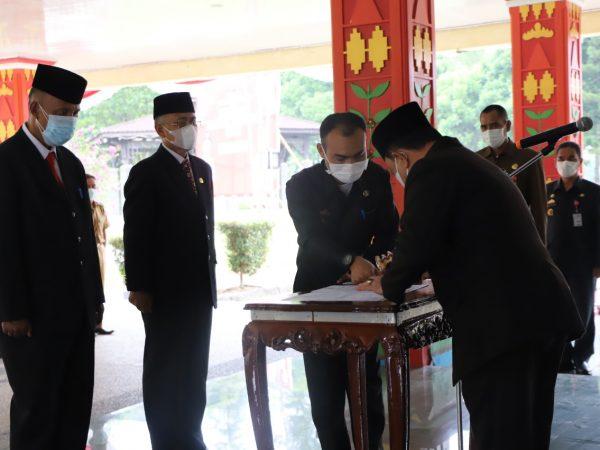 Beri Penyegaran Dalam Lingkungan Pemerintahan, Pemkab Lampung Barat gelar Roling Jabatan