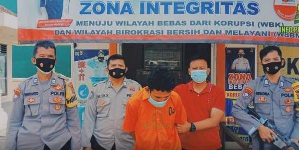 Kedapatan Mencuri Motor, Seorang Pemuda diamankan Polisi